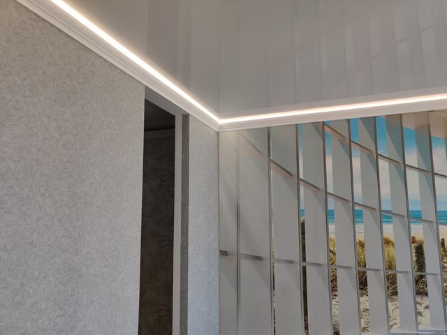 Натяжные потолки с подсветкой в Одессе и их особенности