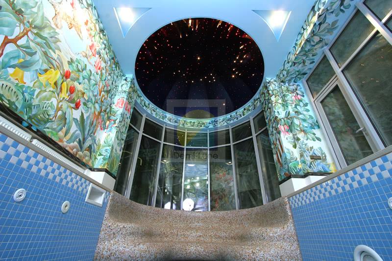 Натяжные потолки звездное небо в Киеве