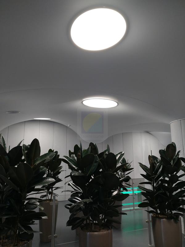 Натяжные потолки на фабрике Roshen Киев. Фото 4