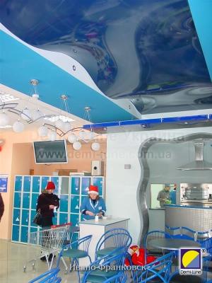 Многоуровневые натяжные потолки в Киеве недорого
